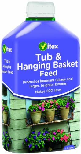 Buy Vitax Tub and Hanging Basket Feed Online