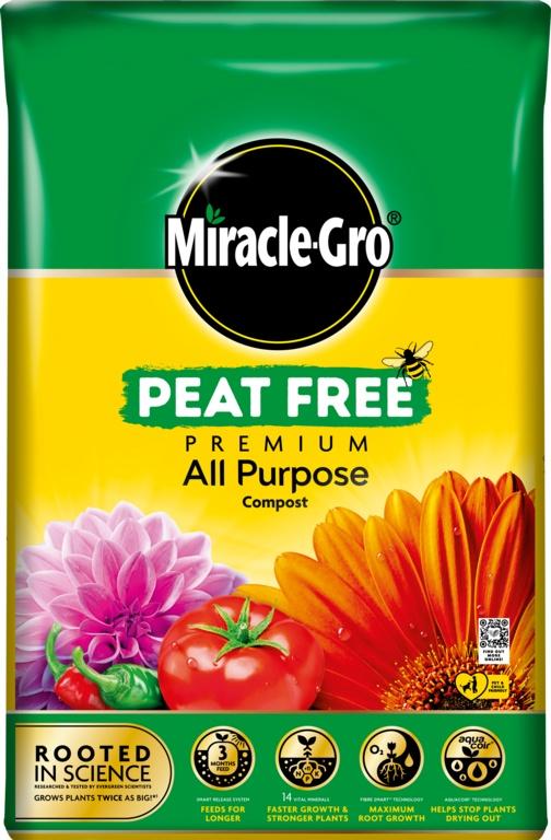 Buy Miracle-Gro Peat Free Premium All-Purpose Compost Online