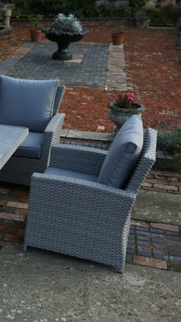 Buy Catalan Six Armchair Fire Pit Dining Collection Online