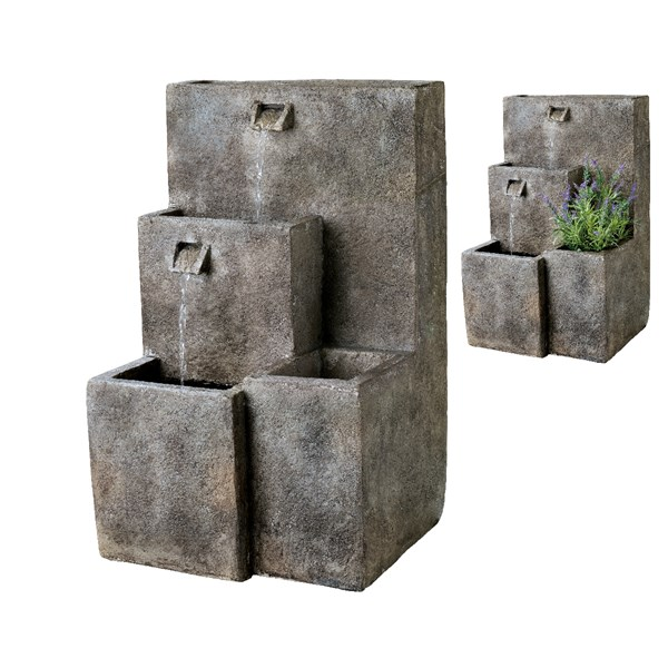Buy Stone Steps Water Feature with Planting Level Online