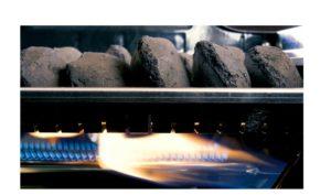Grillstream Hybrid Charcoal lighting