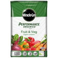 Buy Miracle Grow Performance Organic Fruit & Veg Feed 1kg Online