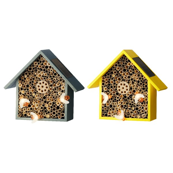 Solar insect house wood Online