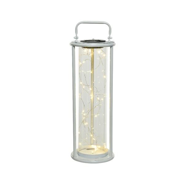 Buy Solar lantern iron White Online