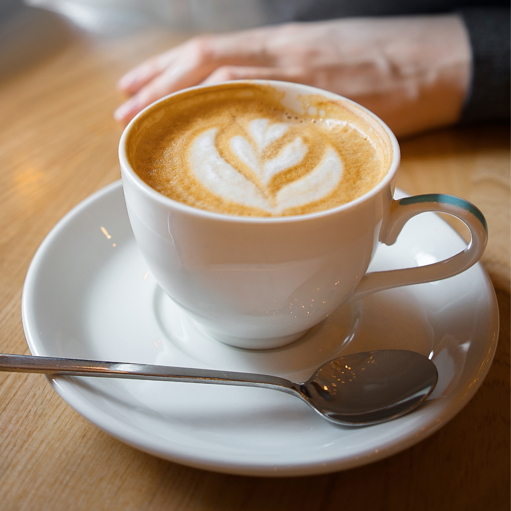 Coffee at Ferndale garden centre
