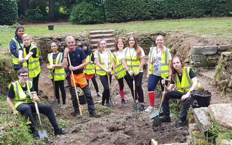 We help out with advice and plant selection at Wentworth Woodhouse